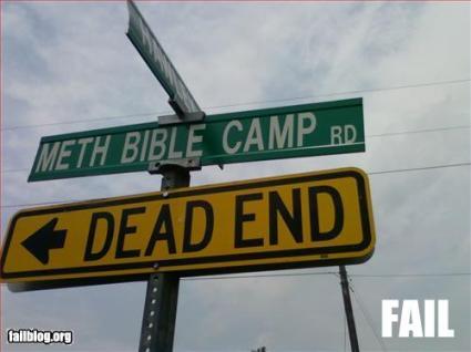 double-fail bible meth dead end