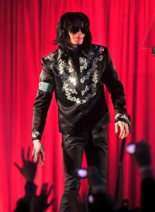 Michael Jackson at the 02