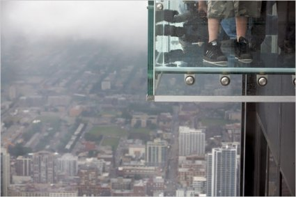 sears tower ledge nyt