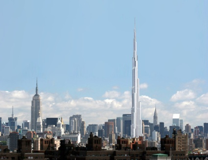 burj dubai in midtown new york